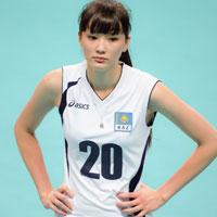 高身長なのに可愛いと話題のカザフスタンのバレーボール選手サビーナの太ももに(*´ω`*)な顔になる